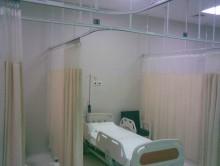 Hastahane yatak Bölmesi 1 | Perde | Hastane Yatak Bölmesi